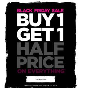 Bonmarché Buy 1 Get 1 Half price Price On Everything