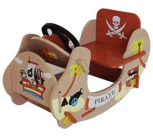 Wooden Bebe Style Pirate Themed Rocking Boat was £29.99 + Del now £21.99 Delivered @ Argos