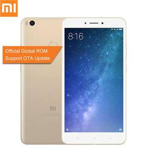 Xiaomi Mi Max 2 Phablet 4G Global ROM 4GB RAM 64GB ROM Gold NO BAND 20 Geekbuying - £144.70