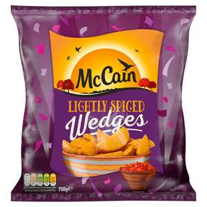 McCain Lightly Spiced Wedges (750g) £1 @ Iceland