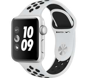 APPLE Watch Nike+ Series 3 - 38 mm £289 w/ trade in & code  @  Currys (offer works on other versions also)