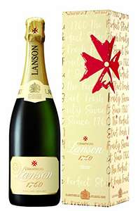 Lanson Ivory Label NV Demi Sec Gift Box 75cl - Amazon - £20.99