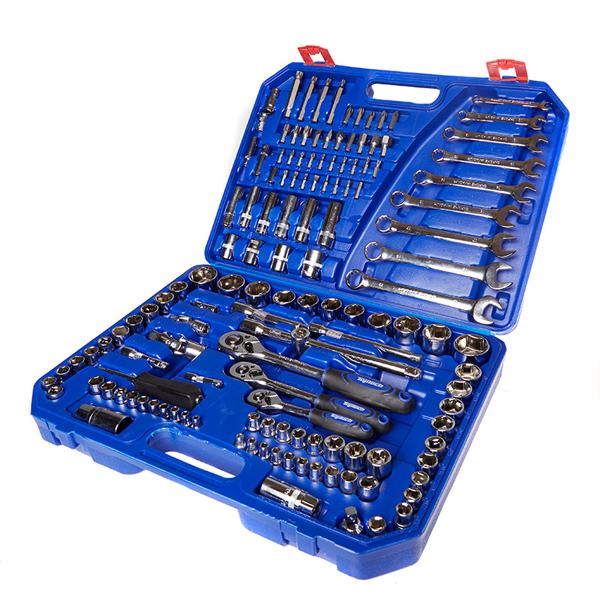 """Top Tech CRV Socket Set - 1/2"""", 3/8"""" & 1/2"""" - 136pc - £66.49 at Euro Car Parts"""