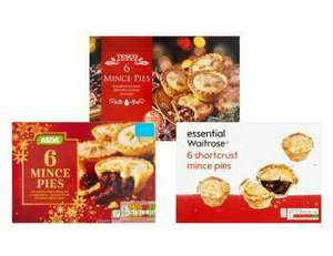 Free mince pies (pack of 6) from quidco