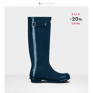 Hunter Boots Black Friday save an extra 20% on Sale prices! Kids Original £23 Women's short £44 or Tall Gloss £55