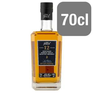 Tesco Finest 12 Year Old Speyside Single Malt - £20