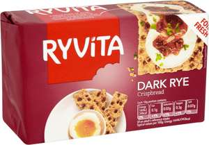 Ryvita Crackerbread Original (2 x 100g = 200g) or Ryvita Dark Rye Crispbread (250g) was £1.00 now any 3 for £2.00 @ Iceland