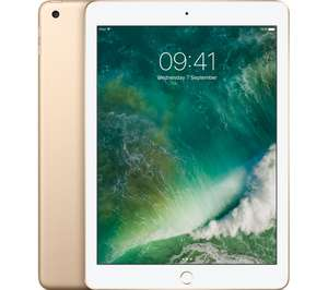 "APPLE 9.7"" iPad - 32 GB £314 w/code PLUS MIN £50 trade-in with any tablet = £264 @ Currys (Space Grey/Gold/Silver)"