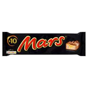 Mars® (10 x 33.8g = 338g) / Snickers (10 x 35.5g = 355g) /  MILKY WAY® (12 x 21.5g = 258g) £2.00 for ONE PACK but now you can buy 2 Packs for £3.00 @ Iceland