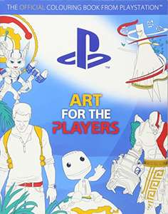 Art for the Players: The official colouring book from PlayStation £6.65 (Prime) £8.64 (Non-prime) Delivered @ Amazon