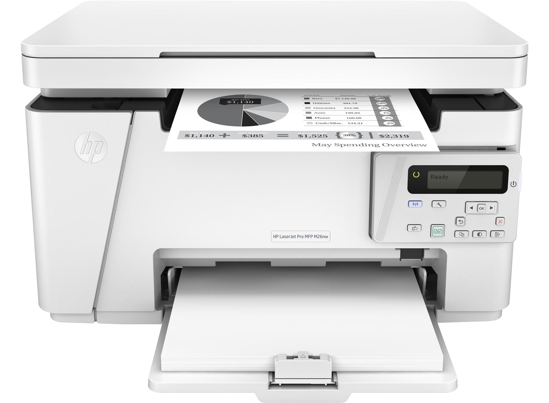 HP LaserJet Pro M26NW All-in-One Wi-Fi Mono Laser Printer - £79.99 @ Argos (+£40 Cashback)