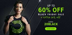 Up to 60% off + additional 20% off @ BulkPowders