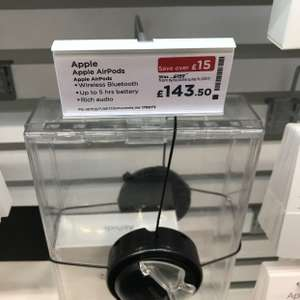 Apple AirPods £143.50 in-store Currys