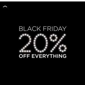 **BLACK FRIDAY** 20% OFF EVERYTHING @ T.M.Lewin with FREE Click & Collect
