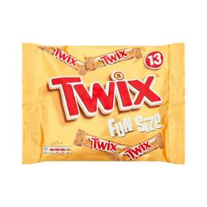 Twix Fun Size 13 Pack ONLY £1.00 @ Poundstretcher