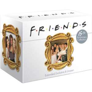 FRIENDS: COMPLETE 15TH ANNIVERSARY COLLECTION (SEASONS 1-10) DVD. Cheapest brand new. Free delivery. - £39.99 @ Zavvi