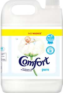 Comfort Pure Fabric Conditioner or Comfort Sunshiny Days Fabric Conditioner (142 Wash =  5L) was £11.00 now £6.00 @ Ocado