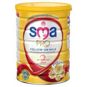 SMA baby milk formula 800g pro follow on and pro toddler , 2 for £15 at Asda
