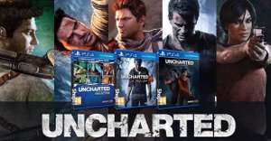 Uncharted 4. Uncharted Trilogy. Uncharted: Lost Legacy. £19.85. PlayStation 4 @ Shopto