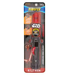 Star Wars Lightsaber toothbrush - £3 @ Boots
