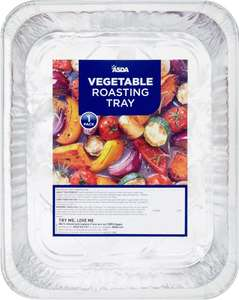 ASDA Vegetable Roasting Tray was £2.00 now £1.00 (Rollback Deal) @ Asda