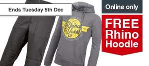 Free Rhino Hoodie with Purchase of Rhino Trousers - £19.99 (Wickes)