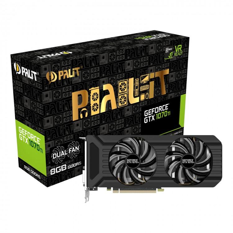 Palit GeForce GTX 1070 Ti Dual - £409.99 +P&P @ Overclockers