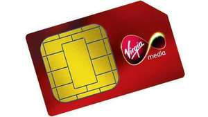 200GB 4G DATA UNLIMITED MINS AND TEXT VIRGIN MEDIA 12 month agreement
