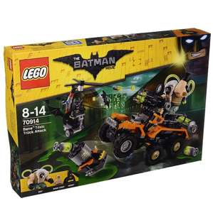 Lego Batman Movie - Bane Toxic Truck Attack - £28.49 delivered from Forbidden Planet