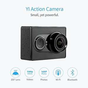 YI Action Camera 16MP HD Sport Camera Waterproof, 1080P/60fps 720P/30fps ,155 Wide Angle Sony Sensor, WiFi and Bluetooth, Black was £59.99 now £20 Delivered Sold by YI Official Store UK and Fulfilled by Amazon