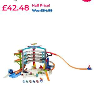 Hotwheels Ultimate Garage at Toya R Us for £42.48