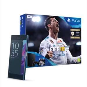 Sony Xperia XZ and PS4 plus Fifa 18 for £22 p/m 36 months £792 @ Virgin media