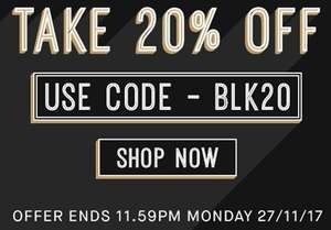 20% off everything on the site including sale @ Two Seasons