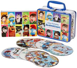 Sony Pictures Animation Collection w/ lunchbox - 10 Films [DVD] £13.49 del w/code / The Munsters: The Closed Casket Collection £9 / Mr Bean: Series 1 - Volumes 1-4 (20th Anniversary Edition) £4.50 + more @ Zoom