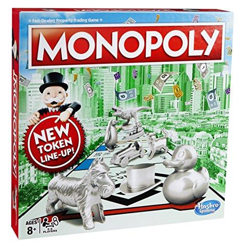 Classic Monopoly - £13.13 (Prime) £17.88 (Non Prime) @ Amazon