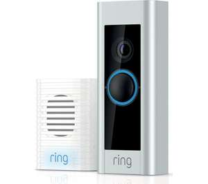 Ring Pro video doorbell with Ring Chime £199 @ Currys