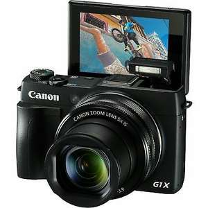 Canon PowerShot G1 X Mark II@ £399 - Canon eBay store + 2 yrs warranty
