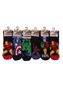 Marvel socks 0.89 in store home bargains