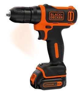 10.8v Black and Decker Lithium Ion Cordless Drill @ £21.99 / £26.98 delivered at Studio