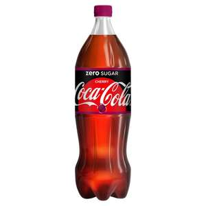 Coca Cola Cherry Zero Sugar just 79p for a 1.75l bottle at Heron Foods