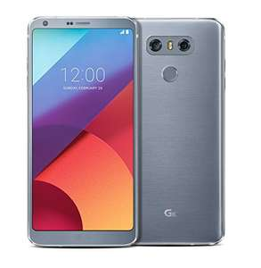 LG G6 Sim-Free Platinum Silver at Amazon for £359.99