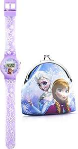 Disney Frozen Kids Digital Watch and Purse Set £7.40 prime / £11.39 non prime @ Amazon