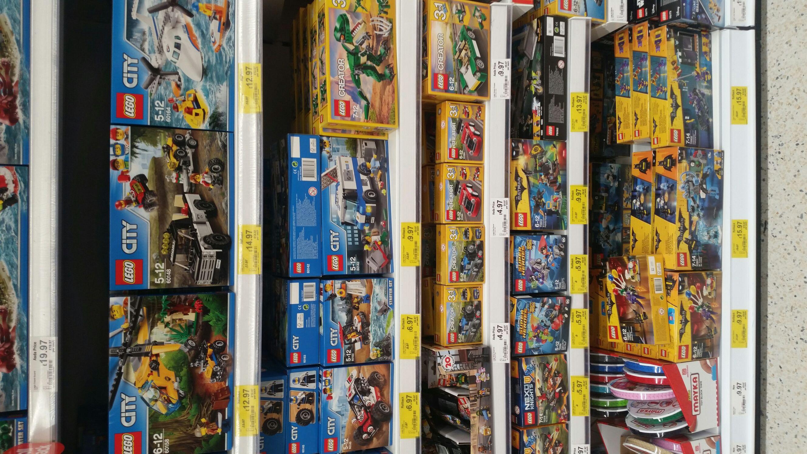 Lego rollback at Asda - Eastlands (Manchester)