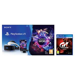 PS VR Starter Pack With GT Sport NOW £232.95 @ JohnLewis
