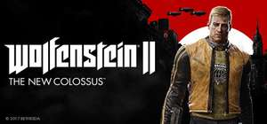 Wolfenstein II: The New Colossus Digital Deluxe Edition 50% off £27.49 @ Steam