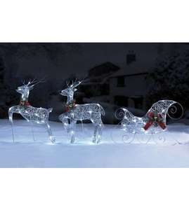 Reindeer and sleigh set @ Studio for £24.99