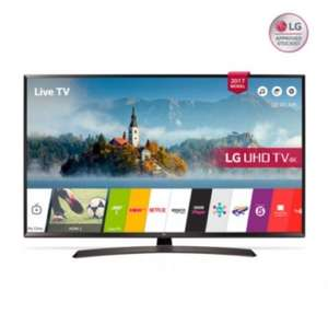 "LG 49UJ634V 49"" 4K Ultra HD HDR Smart LED TV £409 @ PRC direct"