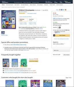 Children's Encyclopedia Hardcover £6 prime / £8.99 non prime @ Amazon
