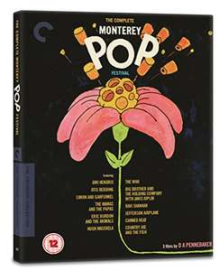 The Complete Monterey Pop Festival Blu Ray - The Criterion Collection at Amazon for £17.99 Prime (£19.98)