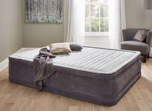 Intex Comfort Elevated Airbed with Built-In Pump - King Size £41.24 instore / online @ Dreams - Cyber Monday (+ £4.95 for Home Del / Free wys £100)